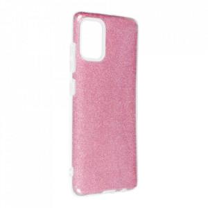 Силиконов гръб FORCELL Shining - Samsung Galaxy A52 5G / A52 LTE ( 4G ) розов