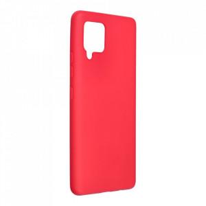 Силиконов гръб FORCELL Soft - Samsung Galaxy A42 5G червен