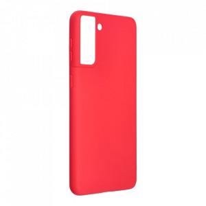 Силиконов гръб FORCELL Soft - Samsung Galaxy S21 Plus червен