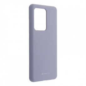 Силиконов гръб Mercury Silicone - Samsung Galaxy S20 Ultra лилав