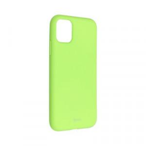 Силиконов гръб ROAR Colorful Jelly - iPhone 11 лайм
