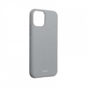 Силиконов гръб ROAR Colorful Jelly - iPhone 11 Pro сив