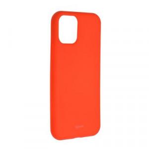 Силиконов гръб ROAR Colorful Jelly - iPhone 11 Pro Max прасковено розов