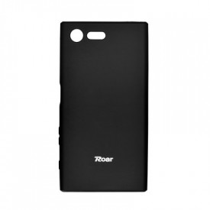 Силиконов гръб ROAR Colorful Jelly - iPhone 5 / 5s / SE черен