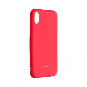Силиконов гръб ROAR Colorful Jelly - iPhone X / XS циклама