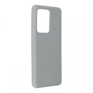 Силиконов гръб ROAR Colorful Jelly - Samsung Galaxy S20 Ultra сив
