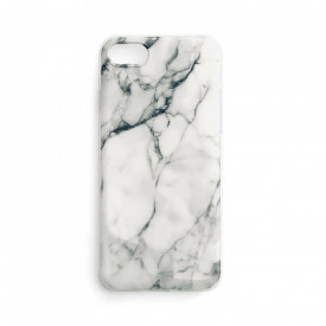 Силиконов гръб WOZINSKY Marble - Samsung Galaxy A32 5G бял