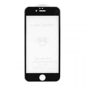 5D Full Glue закален стъклен протектор - iPhone 7 Plus / 8 Plus черен