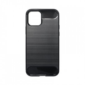 Гръб FORCELL Carbon - iPhone 12 / 12 Pro черен