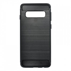 Гръб FORCELL Carbon - Samsung Galaxy S10 черен