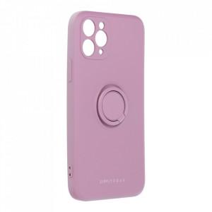Гръб Roar Amber с държач - iPhone 11 Pro лилав