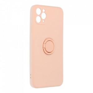 Гръб Roar Amber с държач - iPhone 11 Pro Max розов