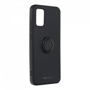 Гръб Roar Amber с държач - Samsung Galaxy A02s черен