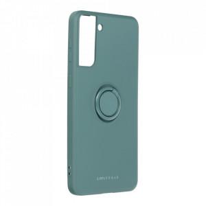 Гръб Roar Amber с държач - Samsung Galaxy S21 Plus зелен