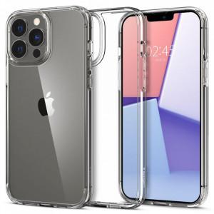 Гръб Spigen Ultra Hybrid - iPhone 13 Pro Max кристално прозрачен