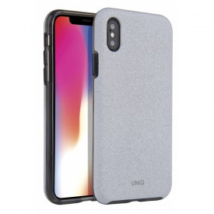 Гръб UNIQ Lithos - iPhone XS Max светлосив