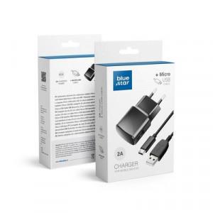 Зарядно за стена NEW BLUE STAR Lite + Micro USB кабел 2A