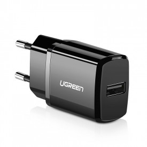 Зарядно за стена Ugreen USB 2.1A черен (50459)