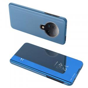 Калъф тип книга Clear View (активен капак) - Xiaomi Redmi K30 Pro / Poco F2 Pro син