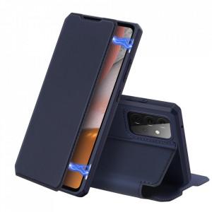 Калъф тип книга DUX DUCIS Skin X - Samsung Galaxy A72/A72 5G син