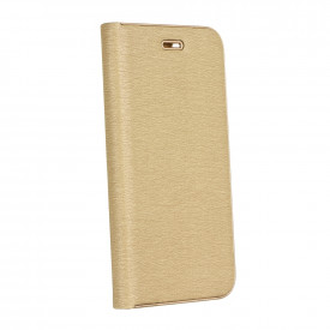 Калъф тип книга Luna - Samsung Galaxy A12 златен