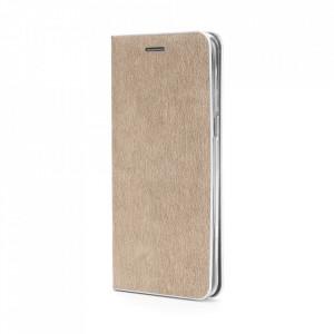 Калъф тип книга Luna Silver - Samsung Galaxy S21 Plus златист