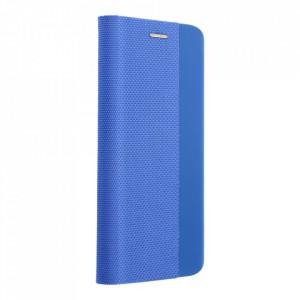 Калъф тип книга Sensitive - Huawei P Smart 2021 син