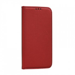 Калъф тип книга Smart - LG K10 2017 червен