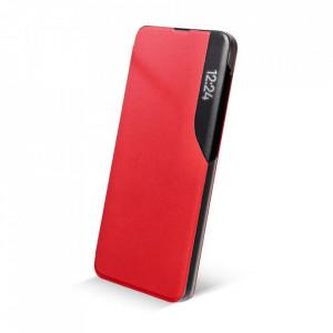 Калъф тип книга SMART VIEW MAGNET - Samsung Galaxy A22 червен
