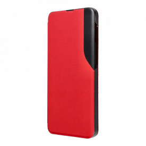 Калъф тип книга Smart View - Samsung Galaxy A02s червен
