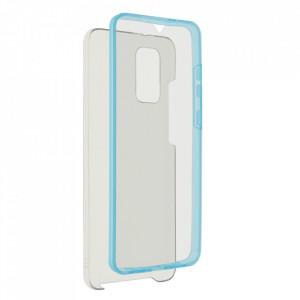 Калъф 360° с твърд гръб - Samsung Galaxy S21 Ultra син