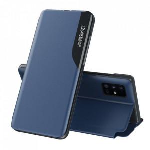 Кожен калъф тип книга ECO - Samsung Galaxy S20 Plus син