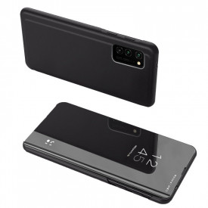 Огледален калъф тип книга Clear View - Samsung Galaxy A52 5G / A52 черен