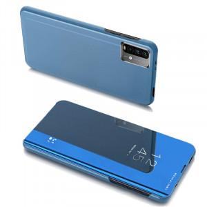 Огледален калъф тип книга Clear View - Xiaomi Poco M3 / Xiaomi Redmi 9T син