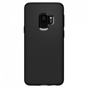 Оригинален гръб Spigen Liquid Air - Samsung Galaxy S9 матиран черен