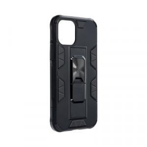Подсилен гръб със стойка Forcell DEFENDER - iPhone 11 Pro черен