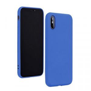 Силиконов гръб FORCELL Silicone Lite - iPhone 12 / 12 Pro син