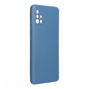 Силиконов гръб FORCELL Silicone Lite - Samsung Galaxy A52 / A52 5G син