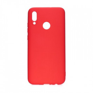 Силиконов гръб FORCELL Soft - Huawei P Smart 2019 червен