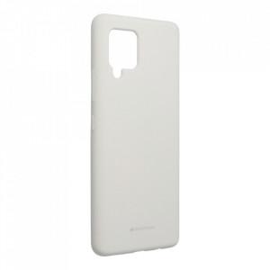 Силиконов гръб Mercury Silicone - Samsung Galaxy A42 5G сив
