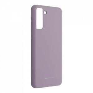 Силиконов гръб Mercury Silicone - Samsung Galaxy S21 Plus лилав