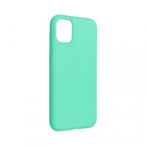 Силиконов гръб ROAR Colorful Jelly - iPhone 11 мента