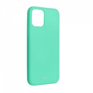 Силиконов гръб ROAR Colorful Jelly - iPhone 12 / 12 Pro мента