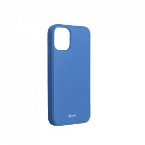 Силиконов гръб ROAR Colorful Jelly - iPhone 12 Mini син