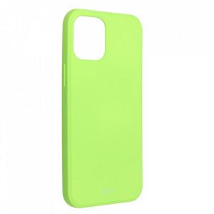 Силиконов гръб ROAR Colorful Jelly - iPhone 12 Pro Max лайм