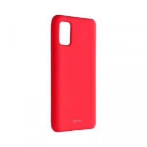 Силиконов гръб ROAR Colorful Jelly - Samsung Galaxy A41 ярко розов