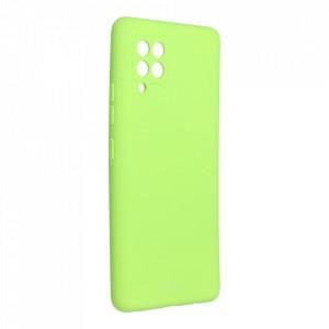 Силиконов гръб ROAR Colorful Jelly - Samsung Galaxy A42 5G лайм