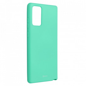 Силиконов гръб ROAR Colorful Jelly - Samsung Galaxy Note 20 мента