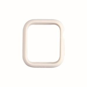 Силиконов калъф UNIQ Lino - Apple Watch 4 / 5 44mm - гълъбово бял