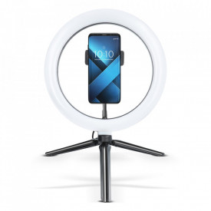 """LED Ring лапма с трипод и държач за телефон 10"""""""